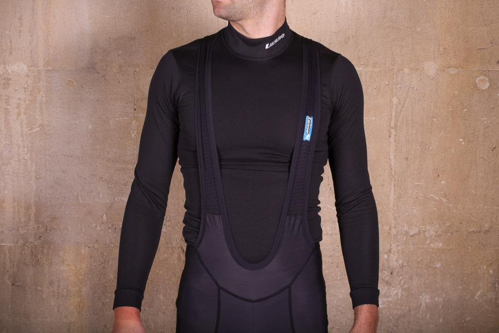 Lusso Thermico Repel Bibtights - straps.jpg