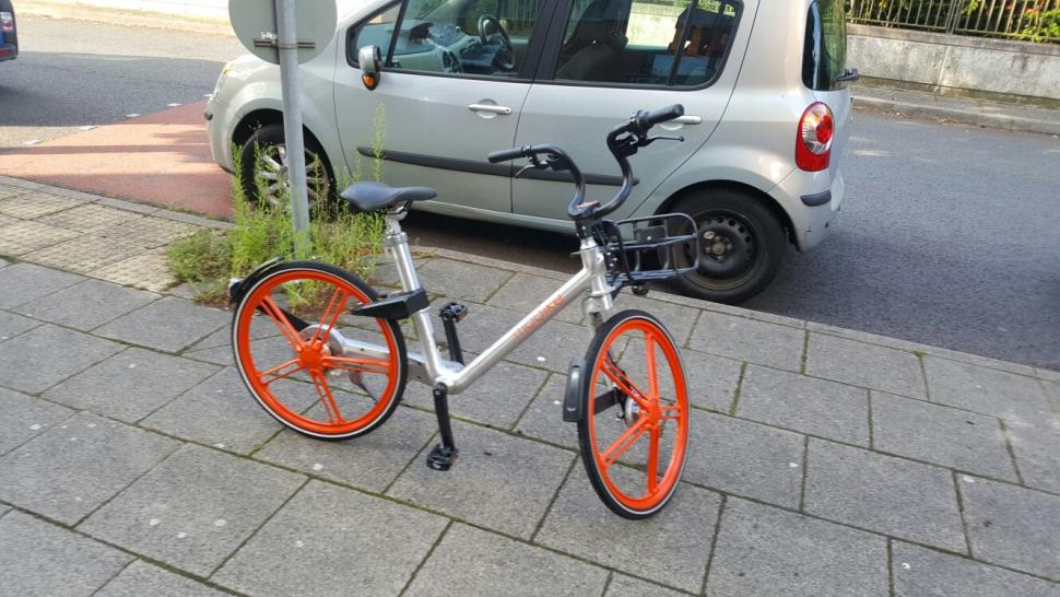 Mobike in Manchester (Sian Dibben)