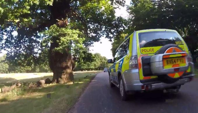 Near Miss of the Day 17 - Met Police pciture via Lucullus on Twitter).JPG