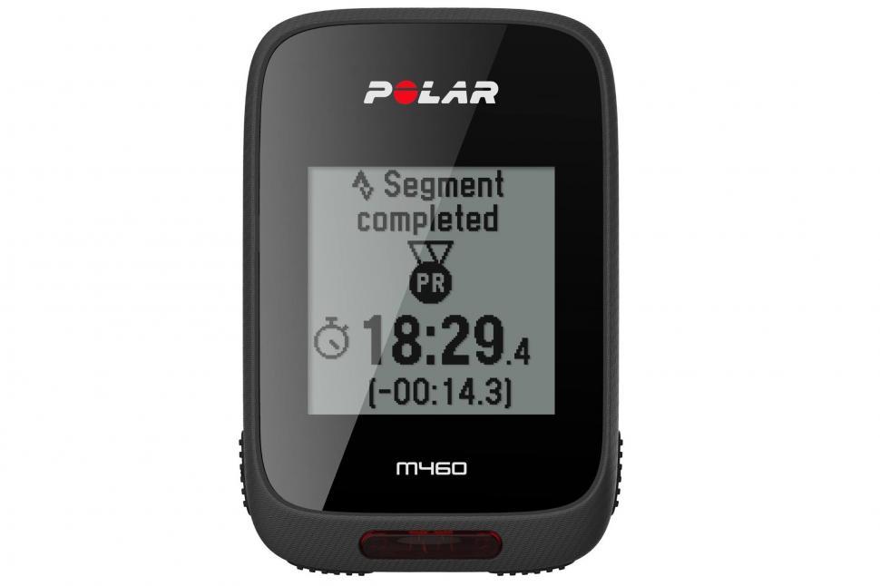 Polar announces M460 GPS bike computer with Strava Live ...