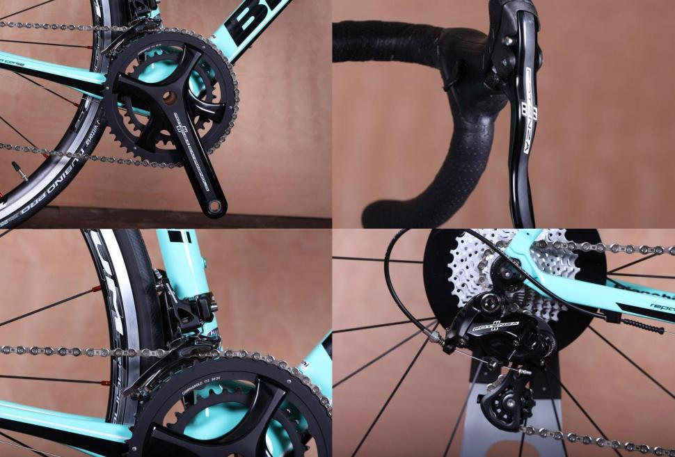 Campag Potenza groupset