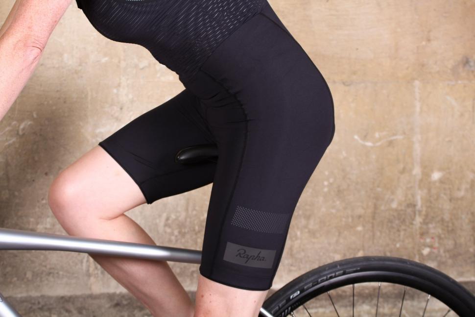 Rapha Women's Brevet Bib Shorts - riding.jpg