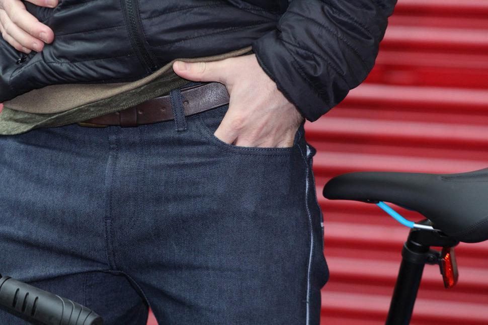 Resolute Bay NX1 Indigo Cordura Denim - front pocket.jpg