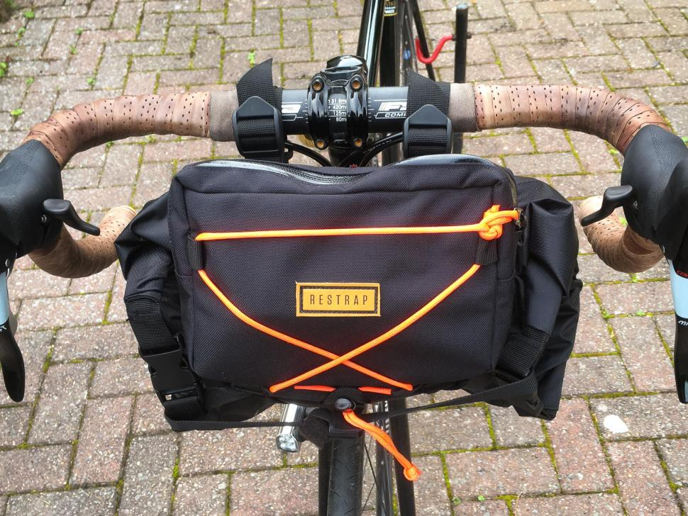 Review Restrap Bar Bag Holster Amp Dry Bag Amp Food Bag Road Cc