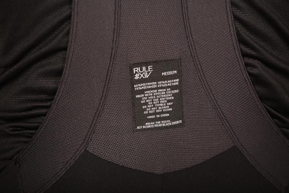 Rule #XIV Mens #M Series Bib Shorts - detail.jpg