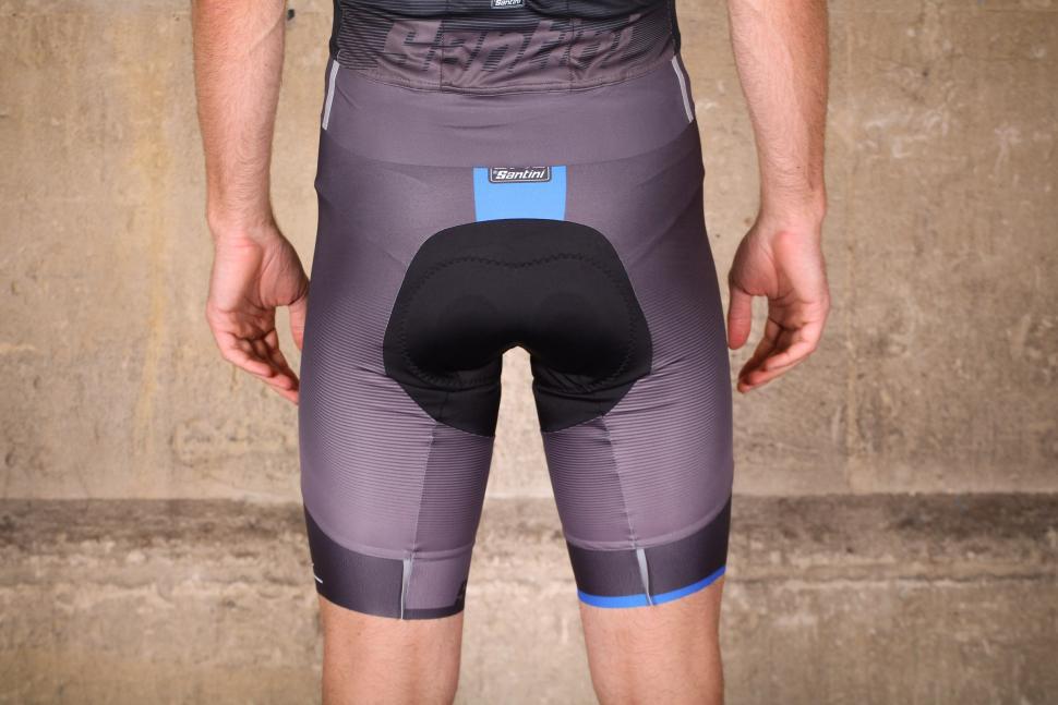 Santini Sleek Plus Bib Shorts C3 Padding - back.jpg