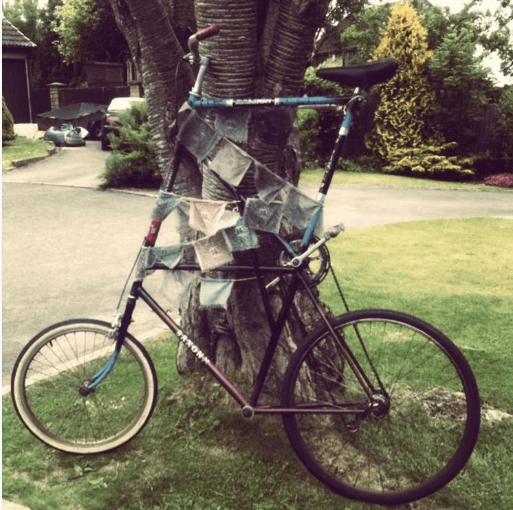 Exercise Bike Tall Person: Stolen Bike Alert: Tall Bike With No Brakes Taken From