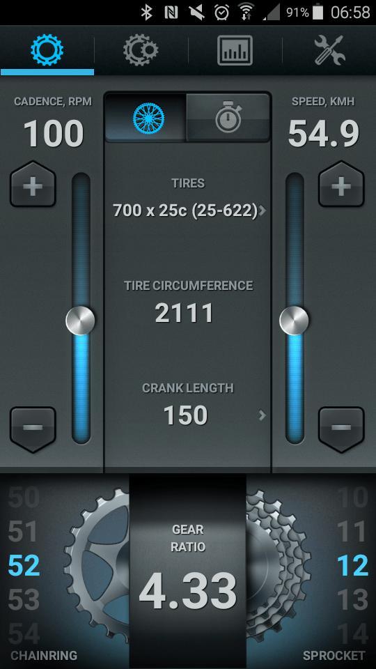 Bike Gear Calculator