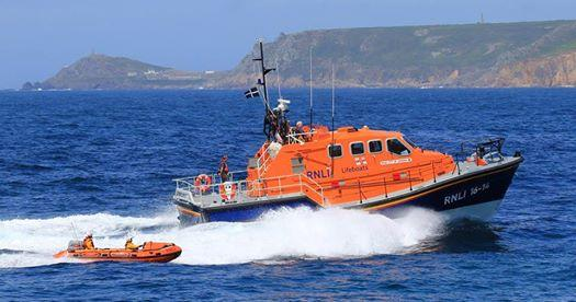 Sennen Cove Lifeboat RNLB City of London III (source Facebook).jpg