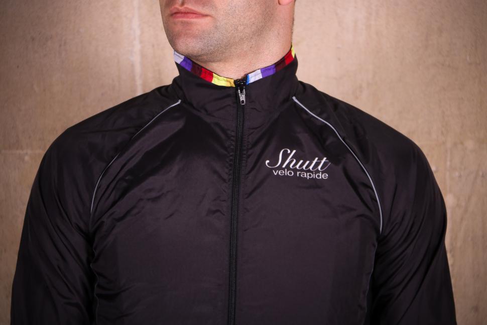 Shutt Velo Rapide Showerproof Jacket - chest.jpg