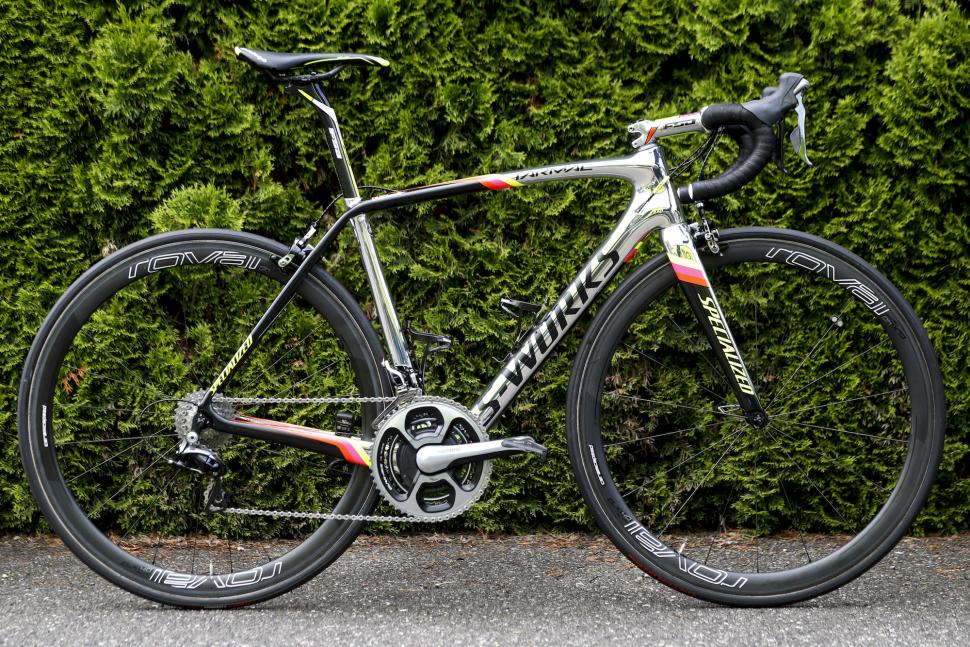 Pro Bike Alberto Contador S Chrome Specialized S Works