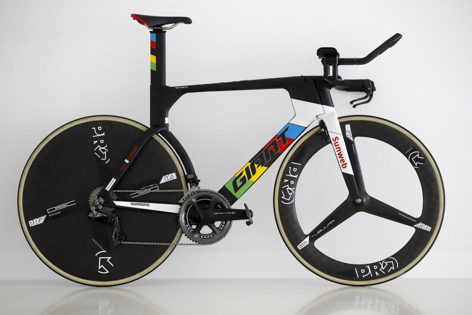 Pro Bike: Tom Dumoulin\'s World Champs Giant Trinity time trial bike ...