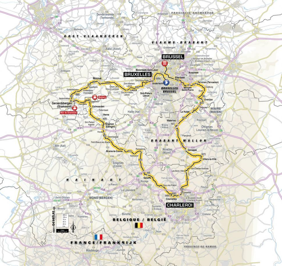 Tour De France Route Video