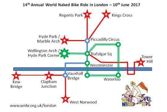 World Naked Bike Ride London route 2017.JPG