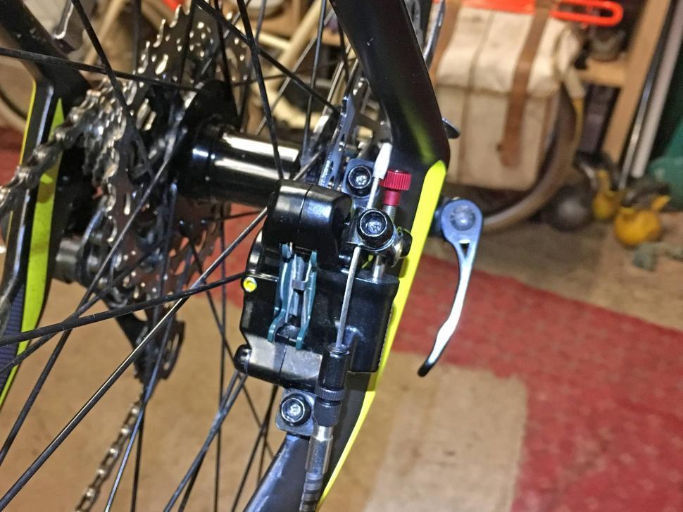 Yokozuna Motoko Disc Brake - fitted 1.JPG