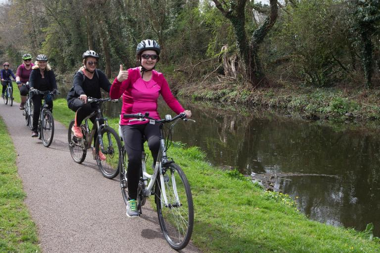 Breeze Women Canal (photo courtesy of Welsh Cycling)