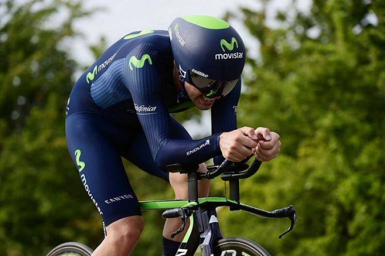 Alex Dowsett in National Time Trial Championships 2015 (picture copyright Allan McKenzie, SWPix.com, Britishcycling.org_.uk).JPG