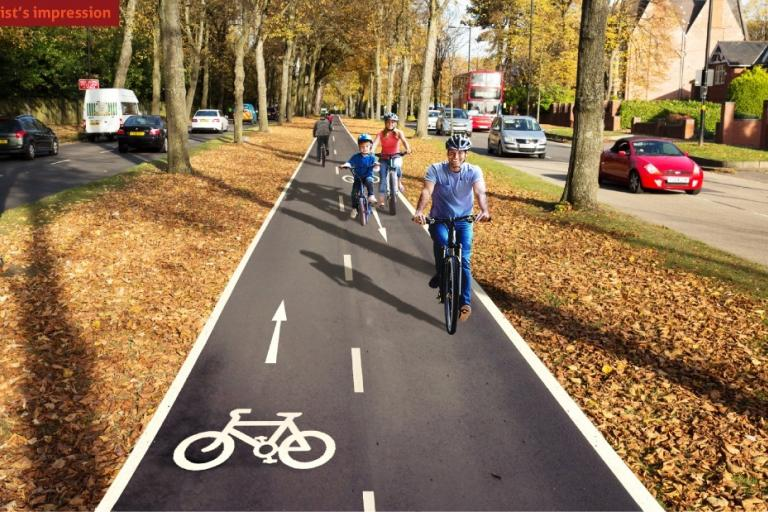 Artist's Impression - A38 - Section B (Birmingham Cycle Revolution).jpg