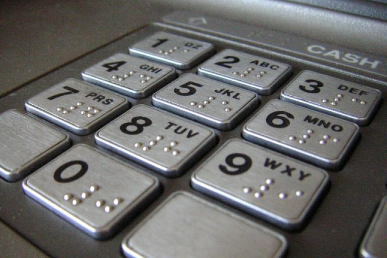 ATM keypad (licensed CC BY 2.0 on Flickr by Redbutton).jpg