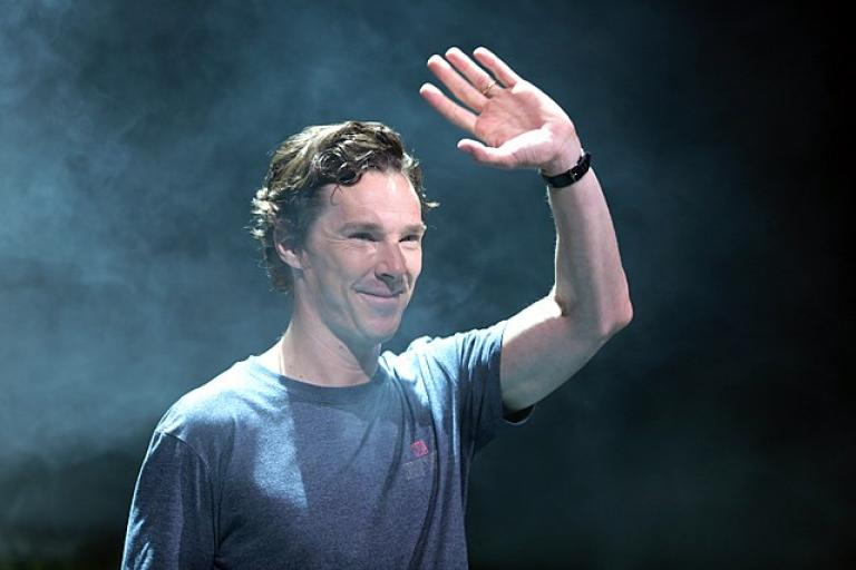 Benedict Cumberbatch at 2016 San Diego Comic Con International (licensed CC BY-SA 2.0 on Wikimedia Commons by Gage Skidmore)