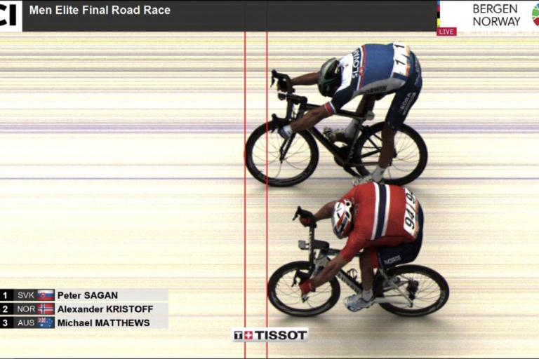 Bergen 2017 men's road race photo finish via Tissot Timing.jpeg