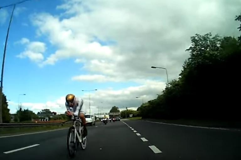 Bradley Wiggins on the A63 (via YouTube).jpg