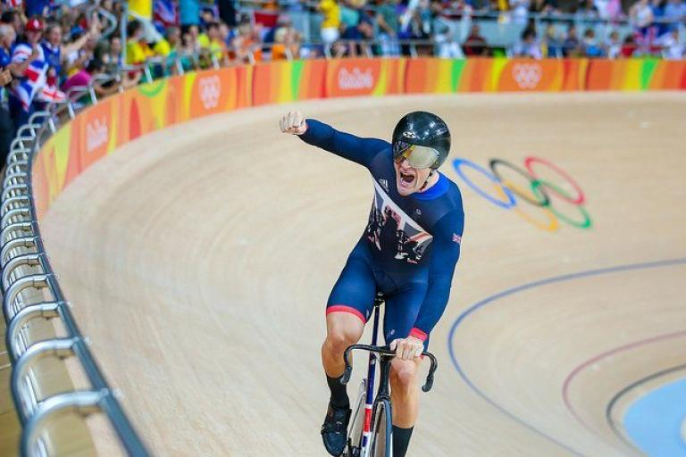 Callum Skinner clebrates gold in Rio (copyright Alex Whitehead SWpix.com via Britishcycling.org_.uk).jpg