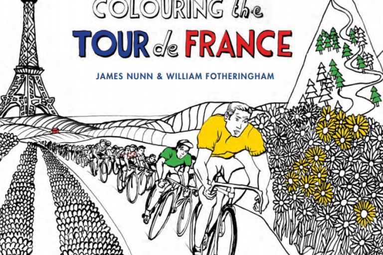 Colouring the Tour de France cover.PNG