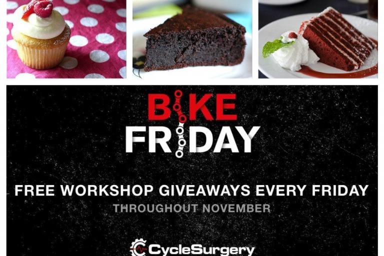 Cycle Surgery Bike Friday - cake.jpg