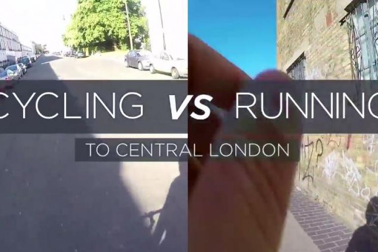 Cycling vs Running to Central London (Max Joseph YouTube still).JPG