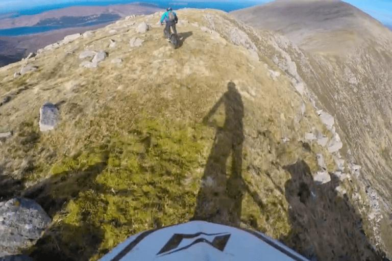 Danny MacAskill and his cousin on Beinn na Caillich (source Facebook).PNG
