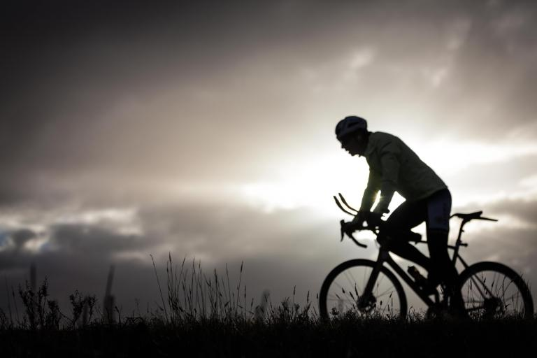 Mark Beaumont silhouette
