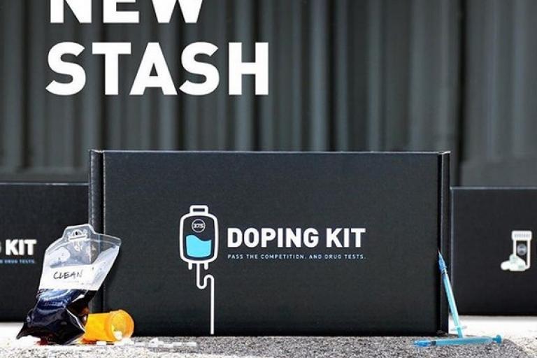 Doping kit (via thirtysevenfive Instagram)