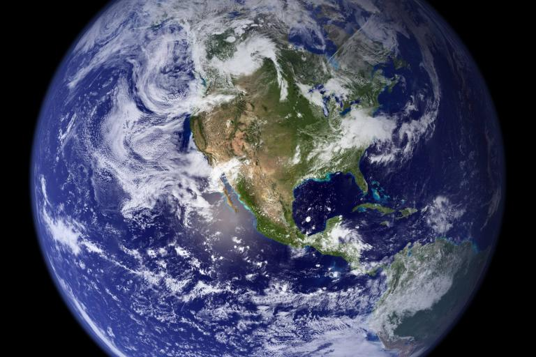 The Earth (Credit - NASA Goddard Space Flight Center Image).jpg