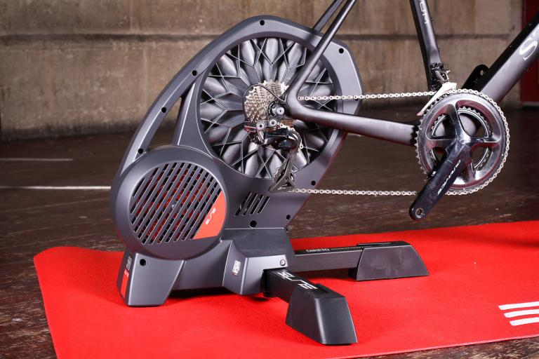 Elite Direto Interactive Power Meter Trainer - with bike.jpg