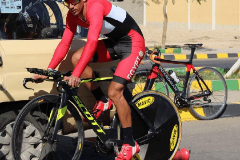 Eslam Nasser Zaki, (picture via CyclingEgypt on Twitter).PNG