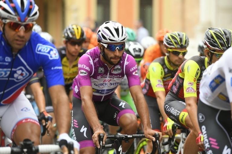 Fernando Gaviria at the 2017 Giro d'Italia (picture credit  LaPresse - D'Alberto - Ferrari - Paolone - Spada).jpg