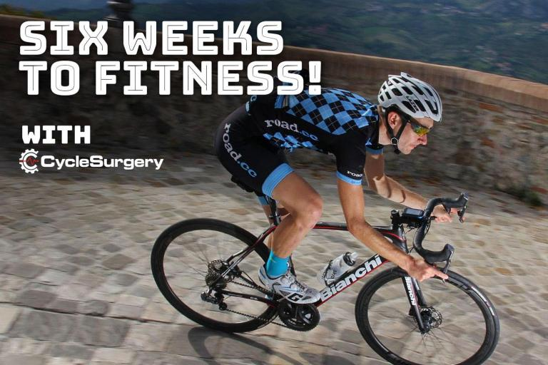 Six weeks to fitness - week 6
