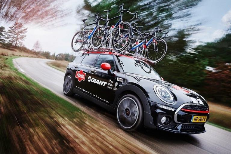 Giant Alpecin MINI Clubman (source Team Giant Alpecin).jpg