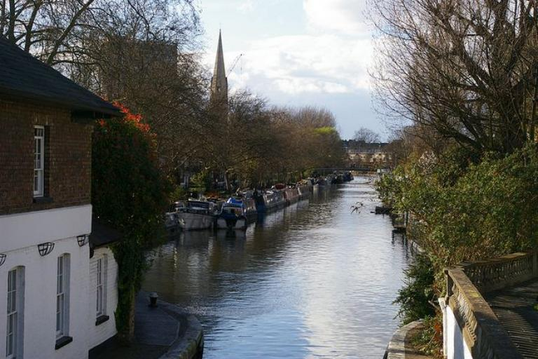 Grand Union Canal, Paddington Arm - licensed CC BY ND 2.0 on Flickr by Hec Tate.JPG