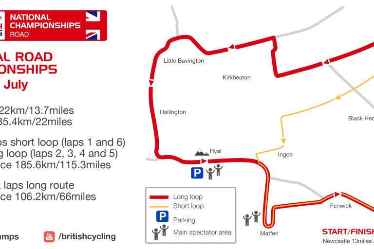 HSBC UK National Road Championships map.png