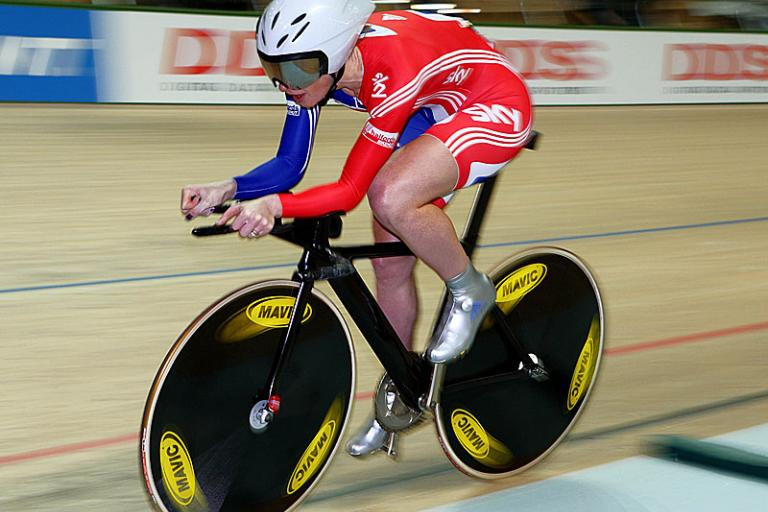 Wendy Houvenaghel world track champs 09 © Photosport Intl