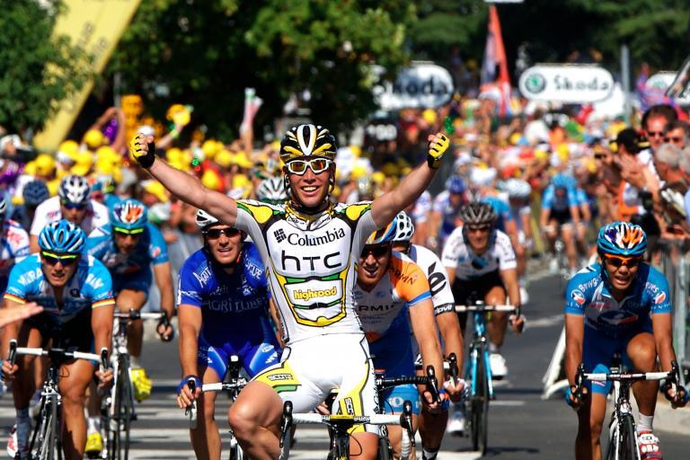 TdF 2009 stage 2: Mark Cavendish wins!    ©Photosport International