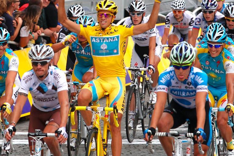 Alberto Contador, Tour de France 2010, Paris (Photosport Intl)