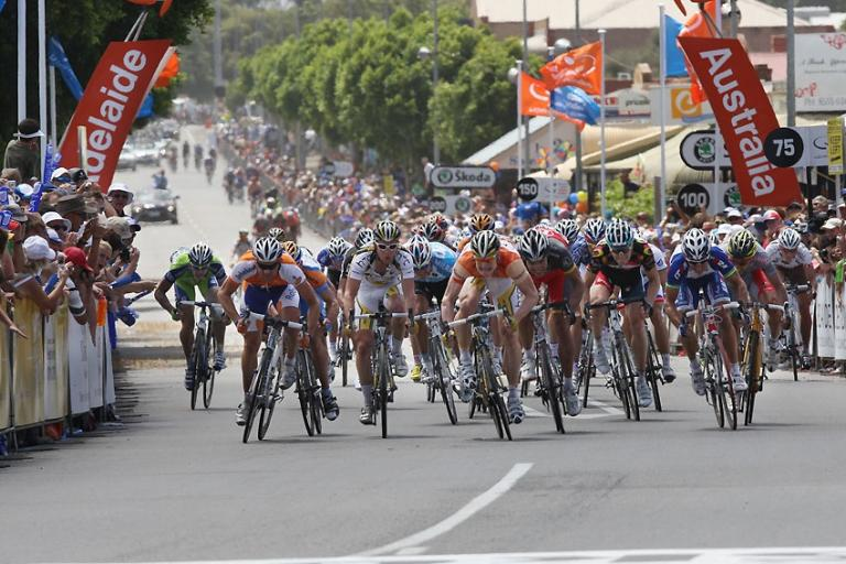 Andre Greipel wins Tour Down Under Stage 4 (credit- Tour Down Under:ohn Veage.jpg