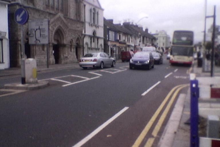 Brighton cycle lane