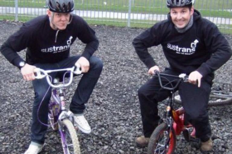 Bike Swap Ashington. Pic credit Sustrans.JPG