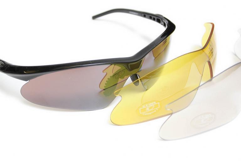 Bloc Leopard 3-lens glasses system