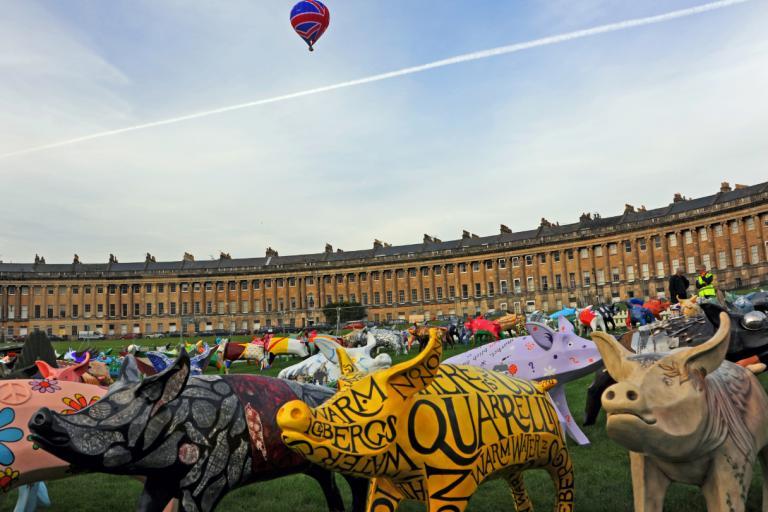 King Bladud's Pigs in Bath - Farewell weekend