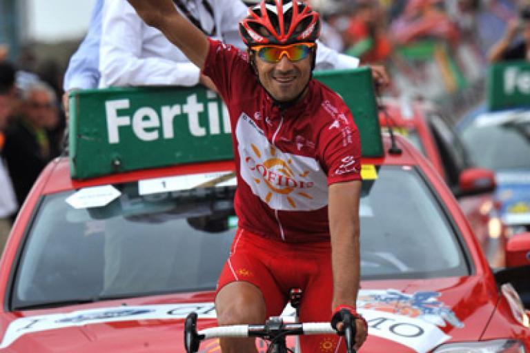 David Moncoutié wins Vuelta Stage 13 at Sierra Nevada © Unipublic